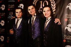 The three Phantoms, Sandor Sasvari, Attila Csengeri and Victor Posta
