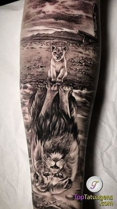 50 eye-catching lion tattoos that make you want to ink - creative lion tattoo . - 50 eye-catching lion tattoos that make you fancy ink – creative lion tattoo © tattoo artist Dope Tattoos, Lion Head Tattoos, Forarm Tattoos, Cool Forearm Tattoos, Funny Tattoos, Amazing Tattoos, Lion Cub Tattoo, Female Lion Tattoo, Lion Hand Tattoo Men