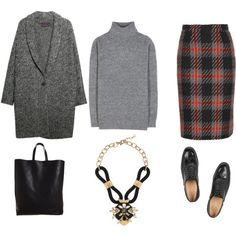 """""""TUESDAY OFFICE LOOK"""" by maellog on Polyvore"""