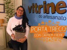 Porta Treco com Carmem Freire   Vitrine do Artesanato na TV