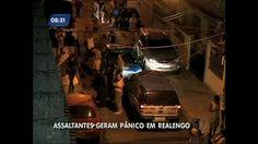 Bandidos roubam mercadinho e se escondem em casas na zona oeste do Rio - Vídeos - R7