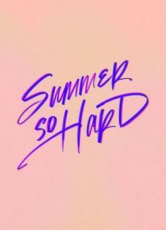 Summer Hard - iPhone wallpaper by Cocorrina