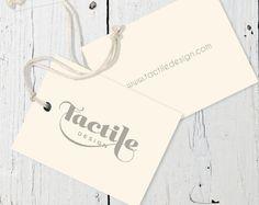 Hangtag - Clothing Label Design via Etsy