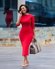 Classy Outfits - Chimnaza - - When classy is mentioned, a modest dressed up lady comes to most peoples mind. I for one admire classy ladies for their dressing and sure their intelligence . Anyone could … Source by Classy Dress, Classy Outfits, Chic Outfits, Dress Outfits, Fashion Dresses, Work Outfits, Outfit Work, Classy Chic, Red Dress Outfit