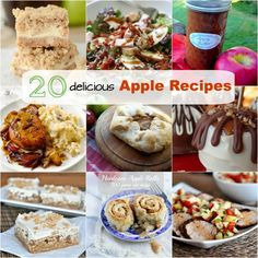 20 Delicious Must-Make Apple Recipes