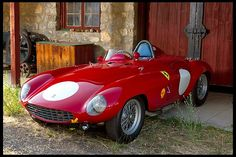 1954 Ferrari 750 Monza Spyder Scaglietti