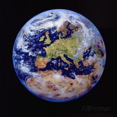 earth from space | Earth from Space Photographic Print