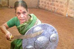 Meenakshi Gurrukkal of Keralahas been practicing Kalaripayattu for sixty-eight years | The News Minute