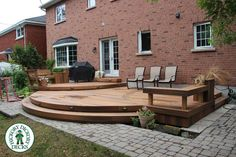 curved deck stairs - Google Search