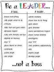 the difference between a boss and a leader - Google Search