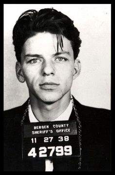 Frank Sinatra - Mug Shot (24x36) - FLM06881