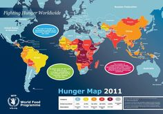 2011 hunger world map