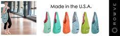 Rowve — Welcome Yoga Bag, Yoga Flow, Gym Bag, Sling Bags, Stylish, How To Make, Sew, Inspire, Artists