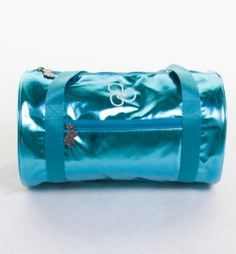 sparkle duffle in sparkle turquoise