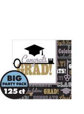 Key to Success Graduation Beverage Napkins 125ct