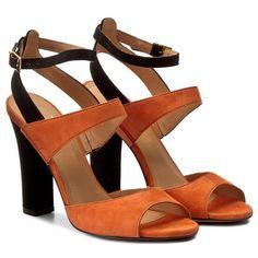 Sandały BADURA - 4342-69 Pomarańcz 918