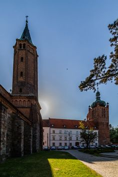 Cathedral Basilica and Dukes of Mazovia Castle in Plock, Poland