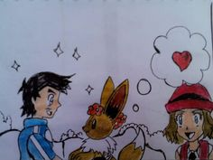SO CUTE!!!!!! XD :D :) ^_^ ^.^ ♡ Amourshipping ^.^ ♡ I give good credit to whoever made this