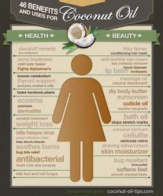 coconut oil pedicure | Benefits of Coconut Oil | beauty {hair makeup nails}