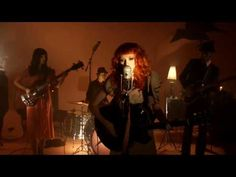 "Very orange video: Karen Elson performs ""The Ghost Who Walks"" with her full band. Recorded live at Third Man Records, Nashville, TN."