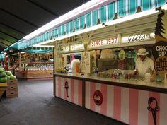 Gill's Old Fashioned Ice Cream, Farmers Market, 3rd Street & Fairfax, Los Angeles, California