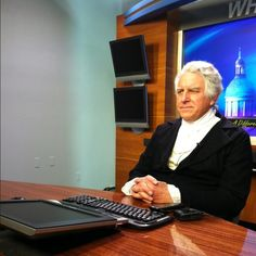 Pres. James Monroe stopped by our studio to talk politics in the 1800s in a 1on1 interview with Bob Corso.