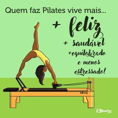 Pilates is an exercise system targeted at developing flexibility and core strength as well as promoting total body balance. Pilates is so versatile that it can be performed by senior citizens and seasoned athletes who Pilates Reformer, Studio Pilates, 30 Day Fitness, Fitness Studio, Yoga Fitness, Pilates Quotes, Pilates Workout Routine, Workout Plans, Pilates Benefits