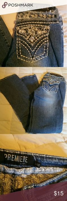 Premiere jeans Great condition super fitted true to size Premiere Denim by rue21 Jeans Boot Cut