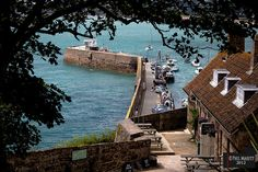 Gorey Harbour, Jersey. Channel Islands