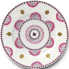Each piece of Parisian designer Alberto Pinto's charming dinnerware collection is handpainted on limoges porcelain. Designs range from classic florals and Asian motifs to more modern designs each reflecting elegance and sophistication. Alberto Pinto porcelain dinnerware is a must have for all dinnerware lovers