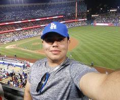 THINK BLUE: Dodgers stadium #ladodgers #dodgers #baseball #dodgerswin #angels #puig #homeruns #goingyard #funtimes #memories #gameonworld #dancinontheceiling #dimples #cheesin #summertime #yabuddy by drose1mvp