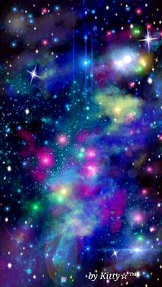 Fondo, Colores, Galaxia, Estrellas, Espacio