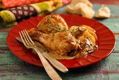 Pollo con manzanas - Maru Botana