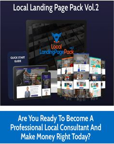 Local Landing Page Pack vol.2 Templates Review – A Brand New Set Of Stunning DFY Local Landing Page Templates That You Can Edit Easily and Sell To Local Businesses For $97 Each #sitebuilder #landingpage #websitebuilder #websitetemplates