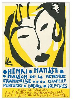 This lithograph is printed in four colors by the Atelier Mourlot in Paris. It was created in 1959. Henri Matisse was a virtuoso, moving from cut-outs and sculpture to painting. The principal...