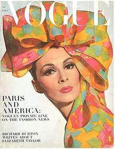 Wilhelmina Cooper, American Vogue March 1st,1965.