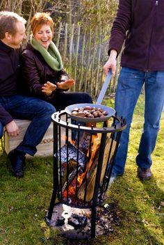 Een #vuurkorf voor in de #tuin: Heerlijk #warm en lekker #gezellig!