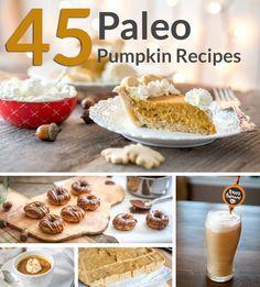 45 Paleo Pumpkin Recipes