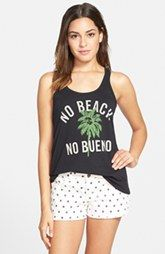 Malibu Native 'No Beach No Bueno' Graphic Tank (Juniors)