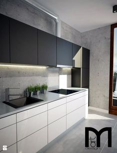 21 Modern Kitchen Area Concepts Every House Cook Needs to See Kitchen Room Design, Modern Kitchen Design, Living Room Kitchen, Kitchen Interior, Kitchen Decor, Modern Kitchen Cabinets, Kitchen Units, Kitchen Furniture, New Kitchen