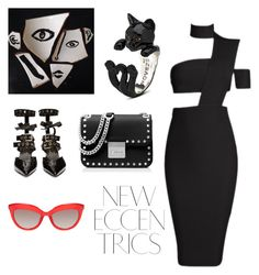 New Eccentrics by rosablu on Polyvore featuring #CatFever #HugRing from #JRDunn