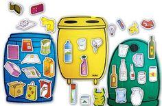Marci fejlesztő és kreatív oldala: környezetvédelem- újrahasznosítás Earth Day Activities, Toddler Activities, Games For Kids, Diy For Kids, Recycling Games, Earth Day Crafts, Preschool Christmas, Preschool Lessons, Home Learning