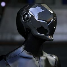 side effects maybe similar to having your brains smashed in by a slice of lemon wrapped round a large gold brick Futuristic Helmet, Futuristic Armour, Cyberpunk Character, Cyberpunk Art, Helmet Design, Mask Design, Borderlands, Mecha Suit, Helmet Armor