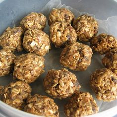 ENERGY BALLS...perfect running, hiking or backpacking energy snack! (rolled oats, flax seeds, peanut butter, honey, sunflower seeds, coconut, dark chocolate, salt and vanilla)