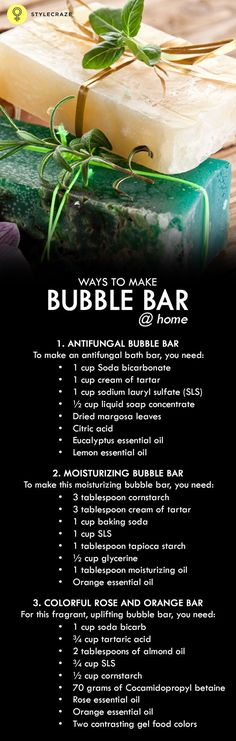 3 Simple Ways To Make Bubble Bar At Home