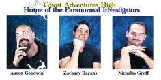 Gods of paranormal investigation