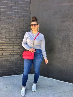 MAXIMIZE YOUR WARDROBE: 14 WAYS TO WEAR HIGH WAIST SKINNY JEANS Winter Dress Outfits, Casual Dress Outfits, Curvy Outfits, Chic Outfits, Plus Size Outfits, Fashion Outfits, Curvy Fashion, Plus Size Fashion, Casual Chic