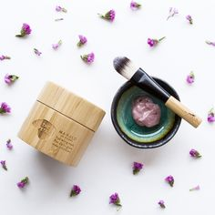 The #Petalmask melts luxuriously on the skin and dries to a pink sheen, without pulling or tightening. The longer you leave it on, the more it seems to give to your skin. The remarkable ingredients and scent are a luxurious treat for the senses. It is the ultimate beautifying skin treatment and gentle enough to apply pre-event or several times a week. #MahaloSkinCare #Mahalo #GreenBeauty #BeautyHeroes