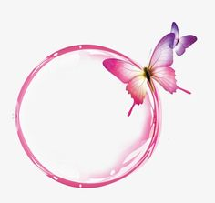 Pink transparent bubble butterfly effect element PNG and PSD Flower Background Wallpaper, Framed Wallpaper, Flower Backgrounds, Frame Background, Butterfly Effect, Butterfly Frame, Flower Frame, Butterfly Logo, Nail Logo