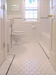 Small bathroom pictures ideas best bathroom tiles 2018 okazpro co 14 bathroom design trends for 2020 bathroom flooring ideas 2019 the best bathroom tile ideas [. Bathroom Tile Designs, Bathroom Floor Tiles, Bathroom Renos, Bathroom Ideas, 1920s Bathroom, Bathroom Renovations, Shower Bathroom, Wall Tiles, Bathroom Layout